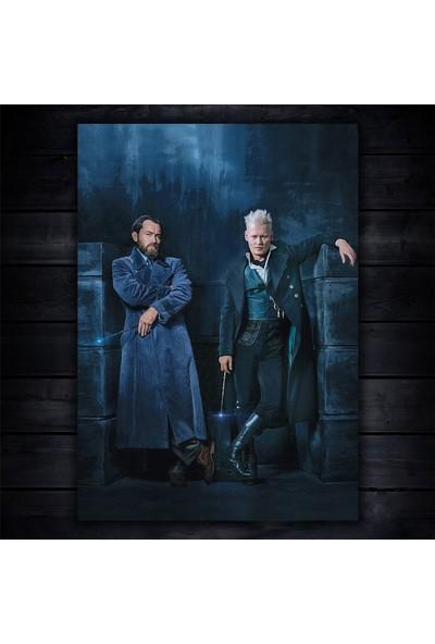 Dumbledore & Grindelwald Poster - Fantastik Canavarlar