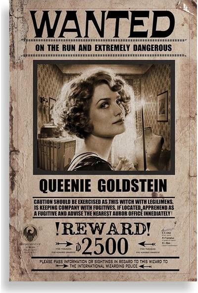 Queenie Goldstein Aranıyor Posteri - Fantastik Canavarlar