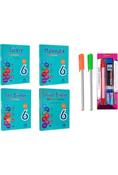 Martı Yayınları 6.Sınıf 4'lü Soru Bankası Seti T-M-F-S