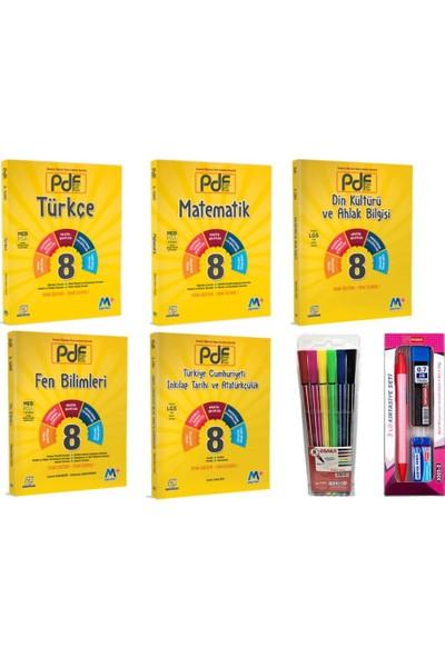 Martı Yayınları 8.Sınıf 5'li Pdf Konu Anlatımlı Set T-M-F-I-D
