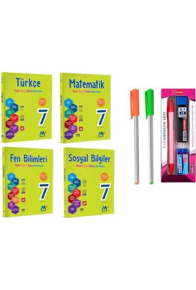 Martı Yayınları 7.Sınıf 4'lü Soru Bankası Seti T-M-F-S