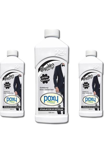 Poxy Siyahlar İçin Sıvı Konsantre Deterjan 1 kg