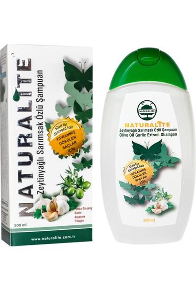 Naturalite Zeytinyağlı Sarımsak Özlü Şampuan 500 ml