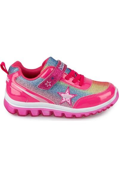 Kinetix Sima 9Pr Fuşya Kız Çocuk Sneaker Ayakkabı