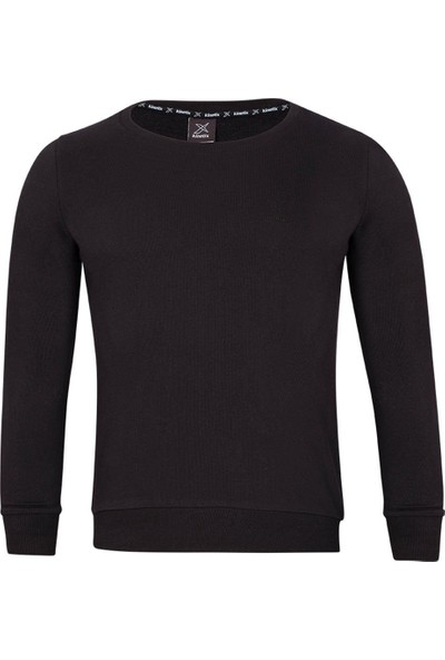 Kinetix Basic C Sweat W Siyah Kadın Sweatshirt