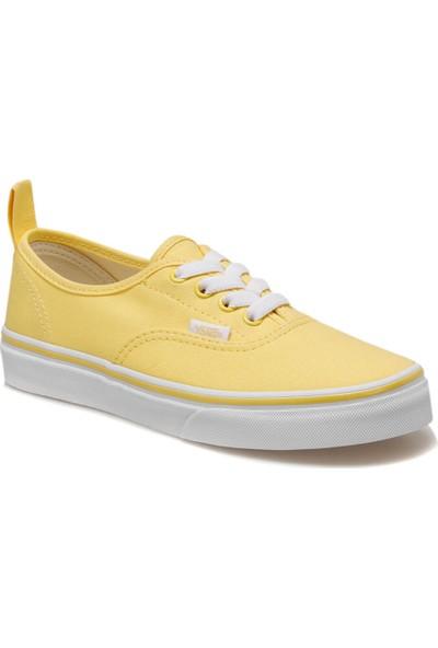 Vans Uy Authentic Elastic Lace K Sari Kız Çocuk Sneaker Ayakkabı