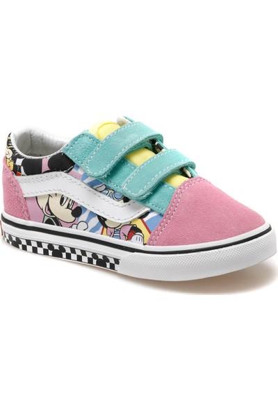Vans Td Old Skool V Çok Renkli Kız Çocuk Sneaker Ayakkabı