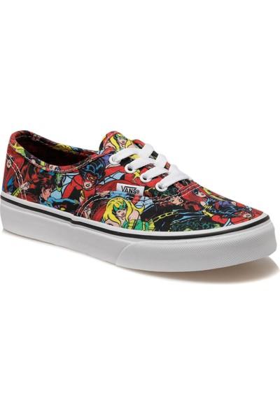 Vans Uy Authentic Çok Renkli Kız Çocuk Sneaker Ayakkabı