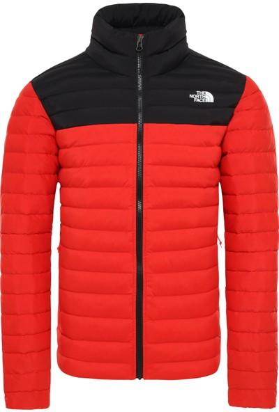 The North Face Stretch Down Erkek Mont Kırmızı Siyah