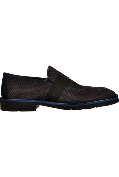 Fosco 9580 Lacivert Nubuk Erkek Klasik Ayakkabı