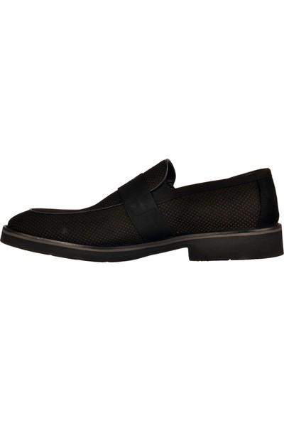 Fosco 9580 Siyah Nubuk Erkek Klasik Ayakkabı