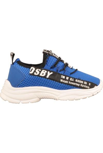 Cosby 037 Saks Mavisi Çocuk Spor Ayakkabı