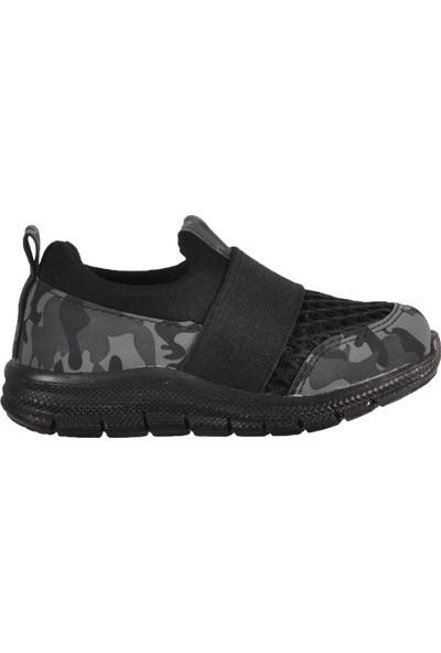 Lafonten 635 Siyah Çocuk Spor Ayakkabı