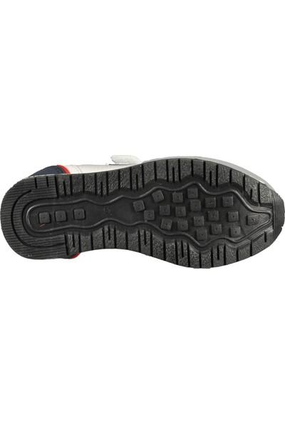 Cool 19-S12-K Beyaz-Kırmızı Çocuk Spor Ayakkabı