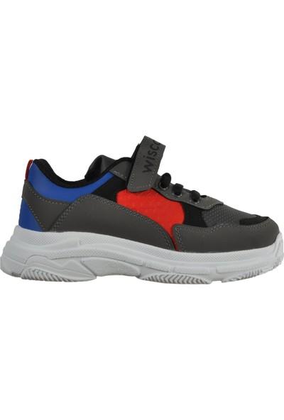 Wisco 019 Füme Çocuk Spor Ayakkabı
