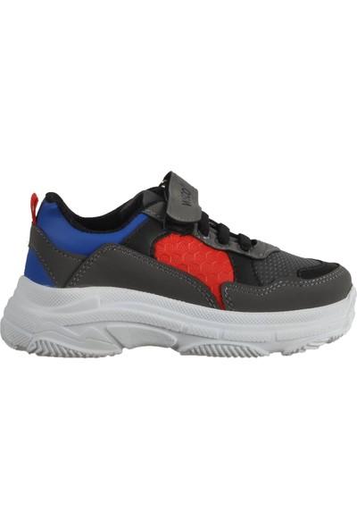 Wisco 019 Füme-Kırmızı-Sax Çocuk Spor Ayakkabı