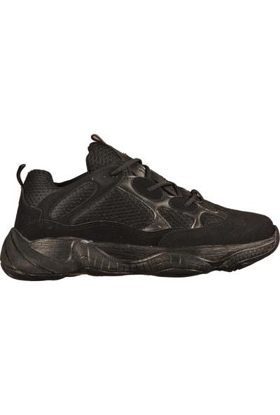 Aspor 19104 Siyah Erkek Spor Ayakkabı