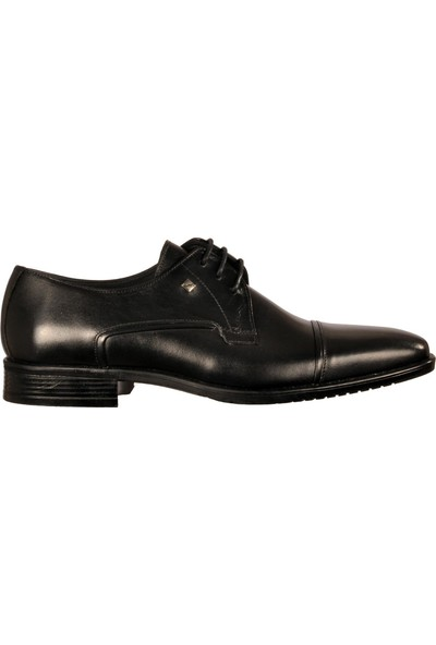 Flexi Care 2296-5 Siyah Erkek Klasik Ayakkabı