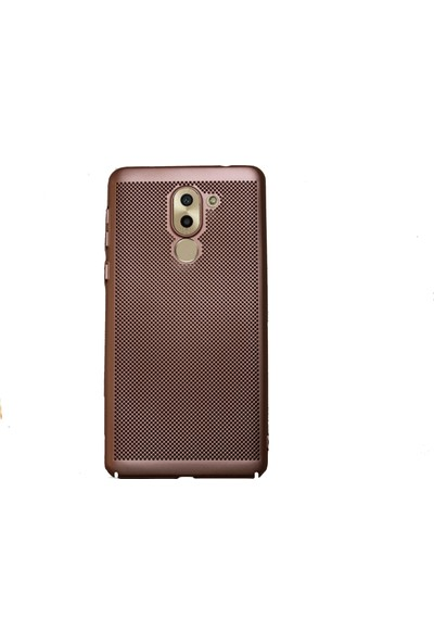 Markaavm Huawei GR5 2017 Fileli Rubber Kılıf - Rose Gold
