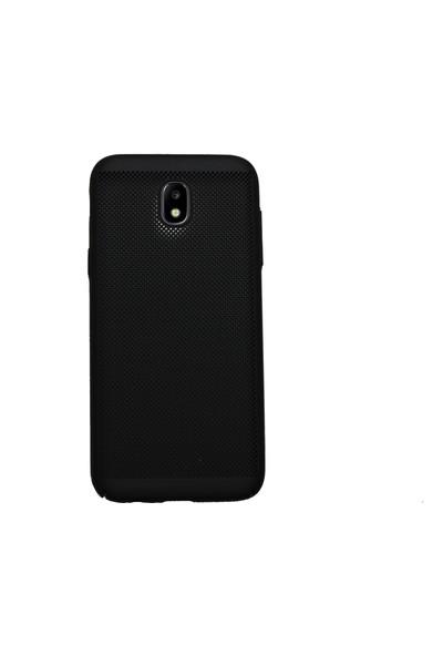Markaavm Samsung Galaxy J5 Pro Fileli Rubber Kılıf - Siyah