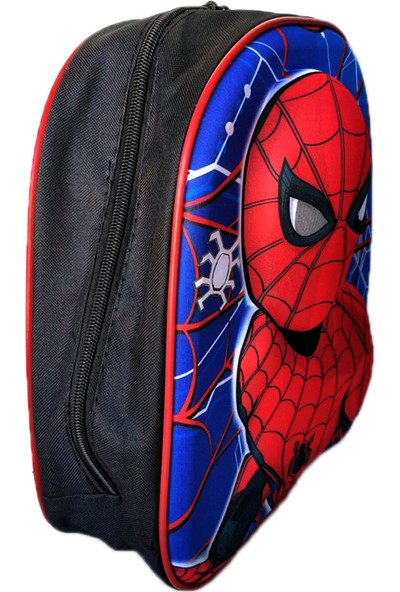 Redpoloshop Anaokulu Sırt Çantası Kabartmalı 5D Spider-man 33 x 27 x 10 cm