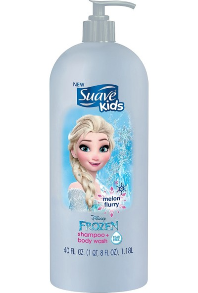 Suave Kids Melon Şampuan + Body Wash 1.18 lt