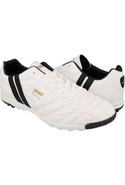 Jump Beyaz Erkek Halı Saha Ayakkabısı 13258-B-Beyaz