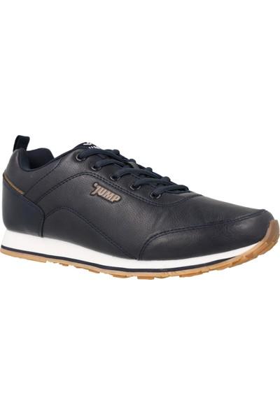 Jump Lacivert Erkek Ayakkabısı 14008-Navy-Brown