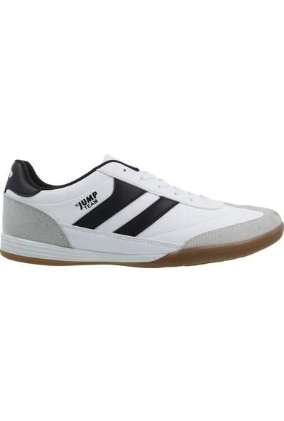 Jump Erkek Günlük Ayakkabı 18089-B-Beyaz-Siyah