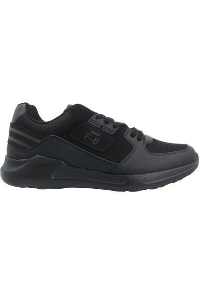 Jump Siyah Unisex Günlük Ayakkabısı 21159-A-Black-Dkgrey