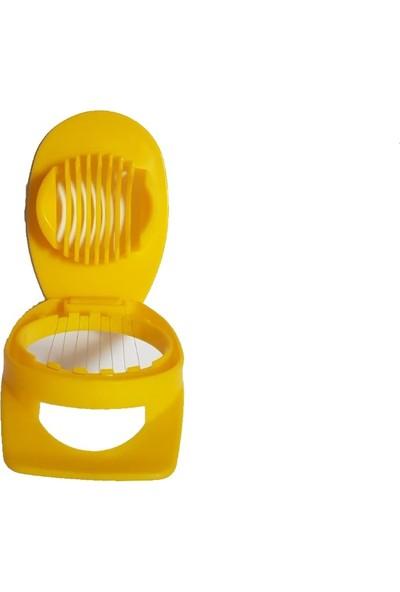 Pratik Kolay Haşlanmış Yumurta Dilimleme Makinesi Dilimleyici Kesici Kesme