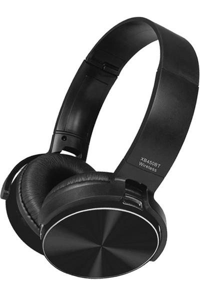 Polygold PG-6987 XB450BT Bluetooth Kulaklık Siyah