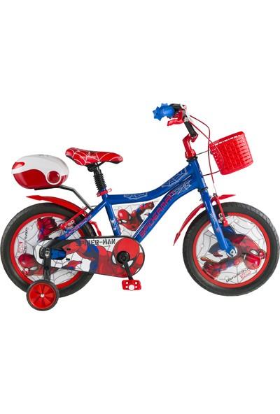Kron Spiderman Lisanslı 16 Jant Çocuk Bisikleti (4-7 Yaş İçin)