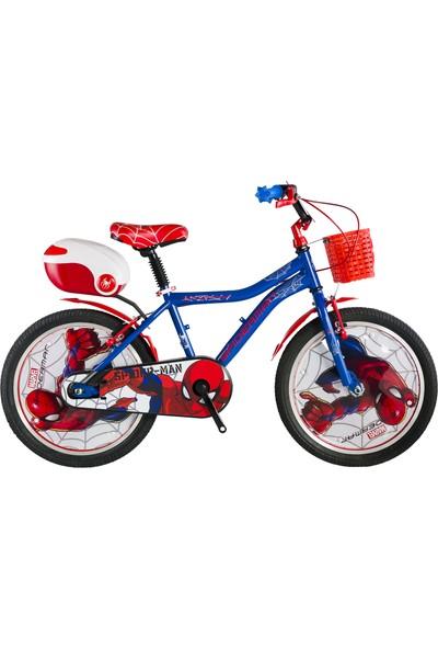 Kron Spiderman Lisanslı 20 Jant Çocuk Bisikleti (6-10 Yaş İçin)