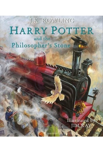 Harry Potter And The Philosopher's Stone Illustrated Edition - J. K. Rowling
