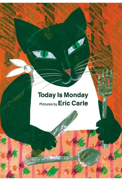 Today Is Monday Board Book - Eric Carle