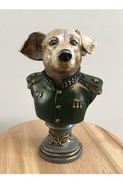 Atölye İlgen Asker Köpek Heykeli