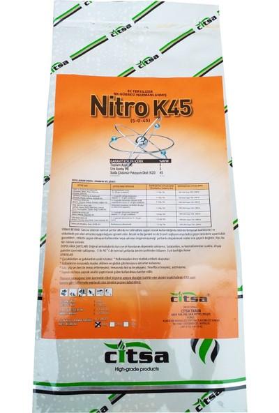 Ci̇tsa Nitro K45 Meyve Renklendirici Hacimendirici Doldurucu Gübre