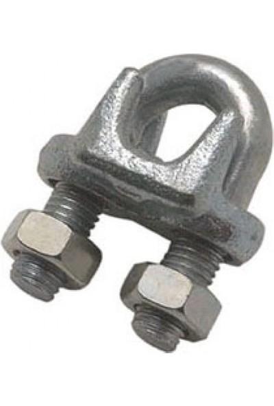 Peronline 22 mm A Tipi Çelik Halat Klemensi 20 Adet