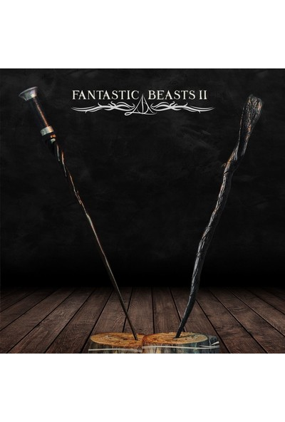 Büyücü Sokağı Albus Dumbledore & Gellert Grindelwald Asa Seti Fantastik Canavarlar