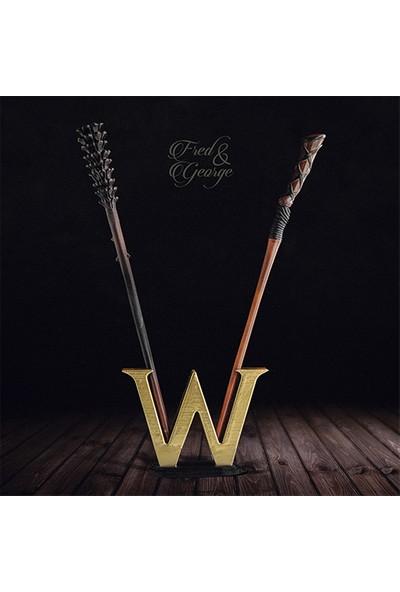 """Büyücü Sokağı Weasley Ikizleri """"w"""" Asa Koleksiyonu Harry Potter"""