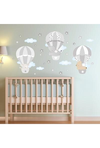 Kt Decoration Balonla Yolculuk Çocuk Odası Duvar Sticker