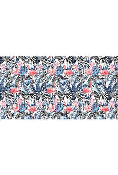 Adawall Flamingo Tasarımlı Adawall Poster Duvar Kağıdı
