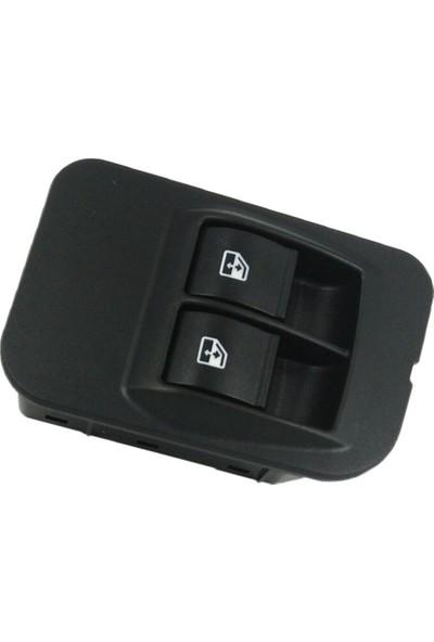 Parçazamanı Fiat Fiorino 2007-2014 Cam Açma Düğmesi 8 Pin Çerçeveli