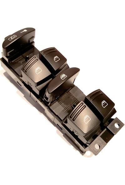 Parçazamanı Porsche Cayanne 2002-2010 Cam Açma Düğmesi Sürücü Tarafı