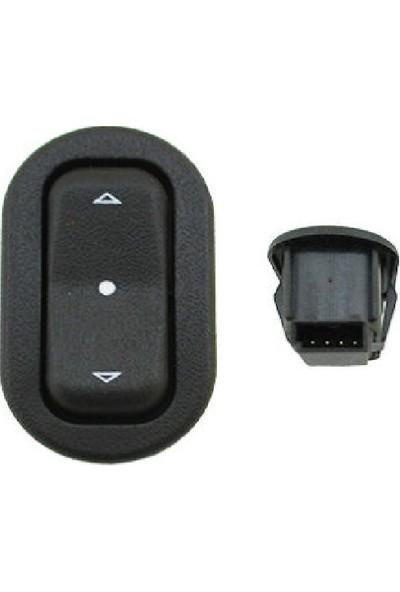 Parçazamanı Opel Meriva Cam Açma Düğmesi Tekli 93350571