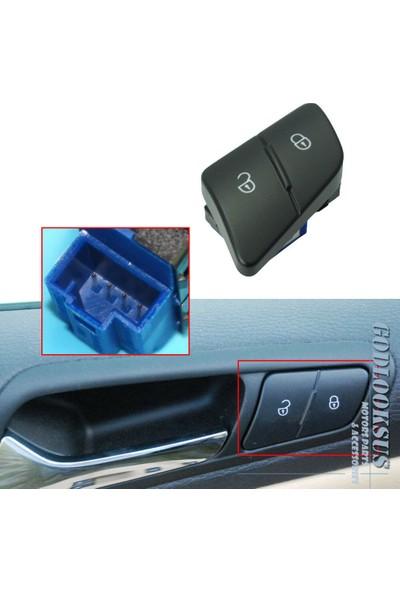 Parçazamanı Volkswagen Passat 2006-2011 Kapı Kilit Düğmesi