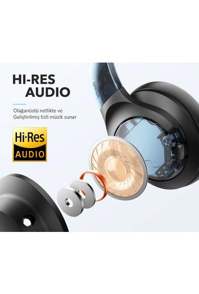 Anker Soundcore Life Q20 Bluetooth Kablosuz Kulaklık - Aktif Gürültü Önleyici ANC - 40 Saate Varan Şarj Süresi -Siyah -A3025