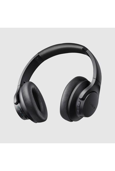 Anker Soundcore Life 2 Bluetooth Kablosuz Kulaklık - Aktif Gürültü Önleyici ANC+CVC - Kulak Üzeri Kablosuz Kulaklık - Siyah - A3023