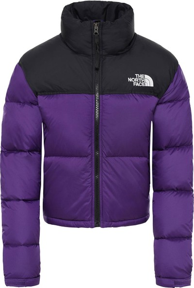 The North Face W Nuptse Crop Mont Nf0A3Xe2N5N1